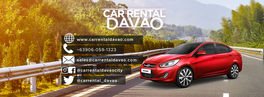 75 Social's Facebook coverphoto for Car Rental Davao