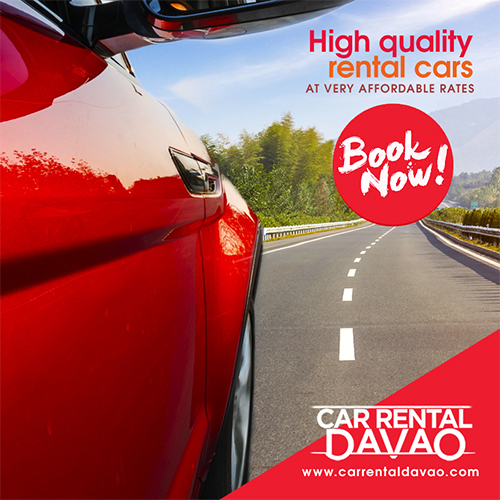 75 Social's graphics work for Car Rental Davao