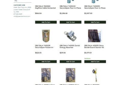 Green Tech Tools web design by 75 Social